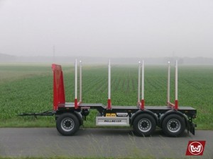 Short Timber Trailer
