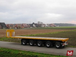 Ballast Semi - Trailer
